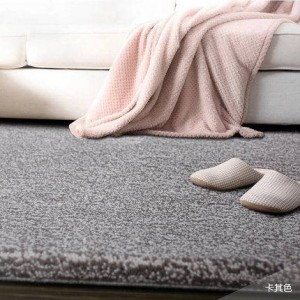 Pure color wool carpet hotel full carpet large living room coffee table bedroom bedside blanket custom