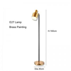 industrial Floor Lamp creative LED Floor Light brass color standing lamp E27 LED lamp for Living Room Bedroom study room