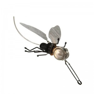 Industrial Vintage dragonfly Led Wall Lamp Kung E27 led lamp Sconce Indoor Decoration Bar Restaurant Bedroom hotel