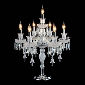 Romantic Fashion Wedding Decor Table lights for Bedroom Bedside Living Room Led E14 luxury high quality crystal table lamp