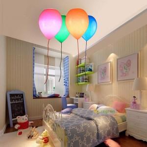 Simple Children's Room Light, Balloons Ceiling Lights Bedroom Boys And Girls Study Creative Restaurant Led Ceiling Lamp