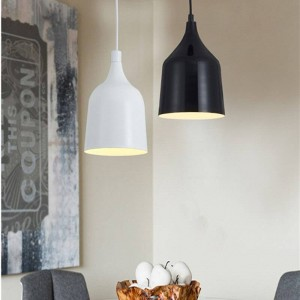 Single Head Modern Simple Industrial Lamp for Bar Restaurant LED Pendant Light Fixtures Northern Europe Cafe Hanging Lamp