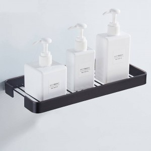 Solid Brass Basket Golden Polished Bathroom Hardware Bathroom Shelves 30CM Long Wall Mounted Cosmetic Shelf Storage Basket