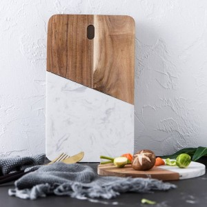 Stone board kitchen accessories marble cheese board jewelry storage board bread sushi plate western food plates