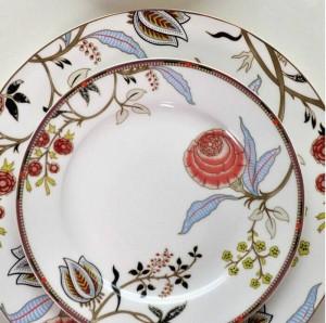 Tableware European Bone Western Dish Steak Plate Afternoon Tea Dessert Coffee Cup And Saucer