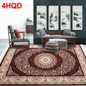 Turkey imports Persian style European carpet living room coffee table carpet bedroom bedside blanket