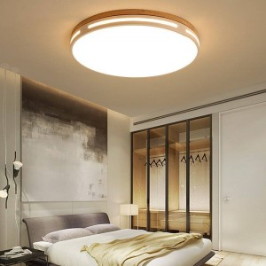 Ultra-thin wood ceiling LED Living room lights ceiling fixtures fixture for modern ceiling lamp 6cm