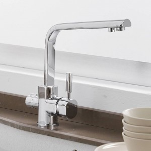 Waterfilter Taps Kitchen Faucets Brass Mixer Drinking Kitchen Purify Faucet Kitchen Sink Tap Water Tap Crane For Kitchen LAD-0188