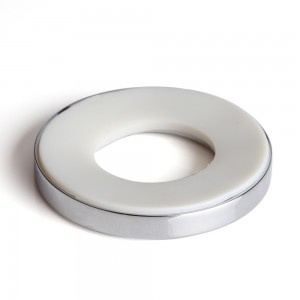 Zinc Alloy Mounting Ring for Vessel Sinks in Chrome Finish
