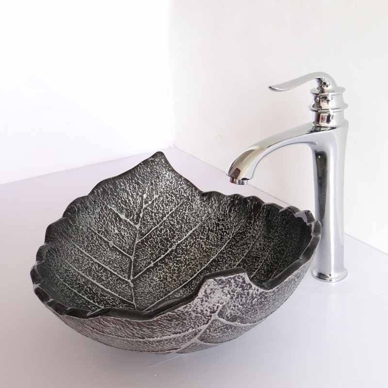 Luxury Europe Vintage Style Glass Sinks Counter Top Wash Basin Bathroom Sink Glass Bowl Wash Basin Europe Vintage Style Glass Sinks Counter Top Wash Basin Bathroom Sink Glass Bowl Wash Basin For Sale