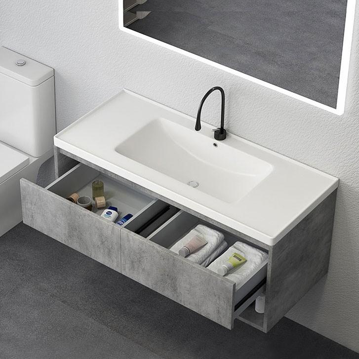"""Luxury Modern 24""""/36""""/40"""" Gray Floating Bathroom Vanity ..."""