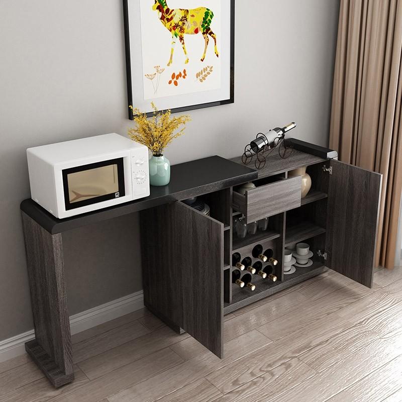 Luxury Modern Extendable Kitchen Sideboard Buffet Table ...