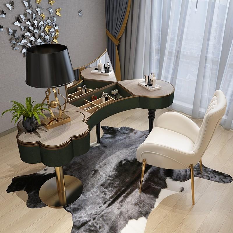 Luxury Modern Luxurious Petal Shape Small / Large Bedroom ... on Makeup Bedroom  id=74587