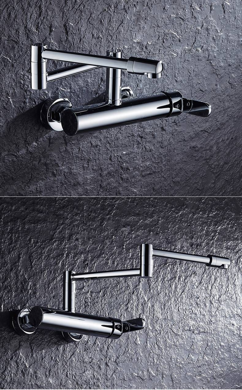 Luxury New Water Taps Brass Material Mixer Faucet Kitchen