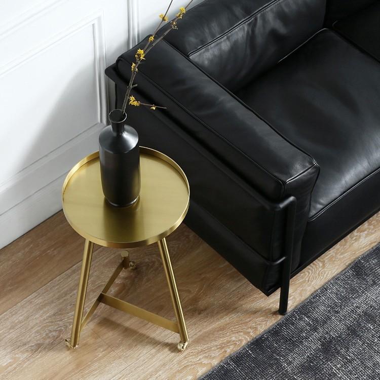 Luxury Stylish Gold Coffee Table Small/Medium/Large Round ...