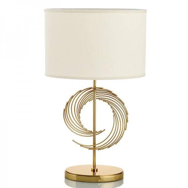Abat-jour de lampe de table en métal de la mode en métal américain