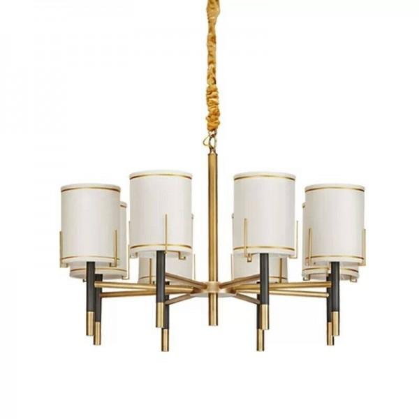 Moderne 8 tête pendentif lumière créative E14 3W LED ampoule LED droplight Living Home Luminaire boutique style simple