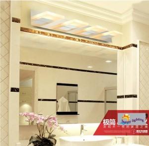 Salle de bains led lampe murale éclairage intérieur 3-4 pcs nouveauté miroir lumière moderne led appliques murales chambre applique murale lampe