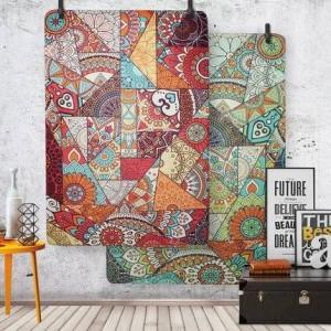 Couverture Nordic Salon Européen Simple Moderne Chambre À Coucher Complète Maison Table Basse Table De Canapé Couverture De Chevet