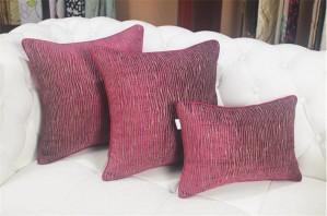 Chic doux saule fine lignes housse de coussin jet taies d'oreiller canapé Literie modèle de chambre décor de luxe Cojines Almofadas cadeau