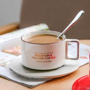 tasse à café ensembles tasse tasse à thé ensemble brève céramique tasse tasse verres à thé cadeau