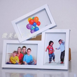 Cadre photo de mode Combinaison de cadre Moderne tendance blanche Décoration d'intérieur Décoration de mariage