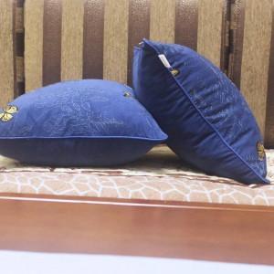 Housse de coussin de broderie de luxe jardin papillon Cojines Decorativos Para canapé voiture / taie d'oreiller Ramadan Décor Housse De Coussin