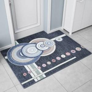 Tapis de porte nordique Tapis de porte Porte d'entrée Tapis de pied Home Hall Salon Type de tapis de porte