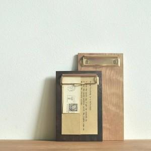 Plateau de rangement de bureau en bois nordique avec clip Logo personnalisable Ecrire Ecrire peinture Pad de rangement de papeterie Organisateur Décor