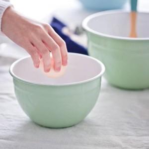 Boîte de rangement pour bol en porcelaine émaillée Accessoires pour boulangerie