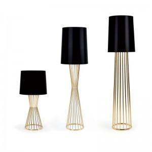 Post moderne Art Décoration lampadaire design nordique lumière debout Bureau Bureau étage lumière art décoration lampe or couleur