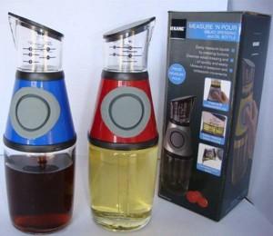 Botella de aceite de 250 ml, salsa de vinagre de vinagrera de aceituna controlable a presión La cocina es un buen ayudante