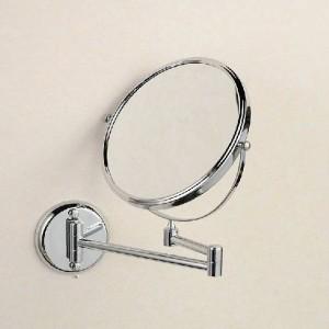 """Espejos de baño 8 """"Espejo redondo de pared Espejo de baño de espejo de baño de latón con espejo de aumento de doble cara de aumento 3X 1308L"""