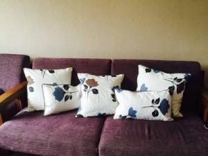 Funda de cojín estadounidense de lujo de Navidad Hoja de arte Sólido Espesar Fundas de almohada decorativas Eazy Care Cojines Coussin Almofada