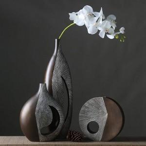 Decoración nórdica creativa florero de flores secas nórdicas sala de estar arreglo de flores decoración del hogar decoración del hogar