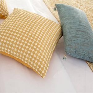 Patchwork geométrico Europa Funda de cojín de lujo almofada Cojines Decoración Fundas de almohada Textiles para el hogar Suministros Silla Asiento Fundas para autos