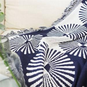 Sector de geometría Manta de tiro Sofá Funda decorativa Cobertor Decoraciones navideñas Inicio Costura antideslizante Mantas a cuadros