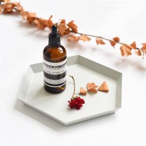 Bandeja de almacenamiento de joyas Bandeja de pastel creativa minimalista moderna Bandeja de cosméticos clave de escritorio Aroma