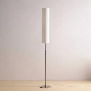 Lámpara de pie moderna Lámparas de pie minimalistas de acero inoxidable para sala de estar Iluminación de lectura Loft Hierro Luz de piso E27 Bombilla LED