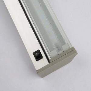 Lámpara de espejo moderna lámpara de pared a prueba de agua 48cm 61cm baño de pared de alta calidad AC85V-240V entrada blanco 6000K blanco cálido