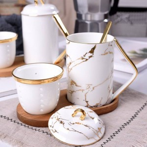 Oficina Trae la taza de té Huesos Té Separación de agua Café perfumado taza de viaje tazas y tazas