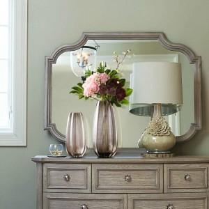 Arreglo de flores de cristal acuático americano simple Florero Decoración Hogar Sala de estar Restaurante Encimera Conjunto floral
