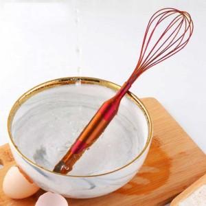 Batidor de Huevo de Acero inoxidable Mano Batidor de Huevo Batidor de Crema Para Hornear Harina Agitador Cocina Pastel Herramienta de Cocina Accesorios