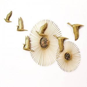 Muñecas tieyi tridimensionales colgando de la pared decoración de la moda entrada del hogar tv fondo decoración de la pared decoración del hogar