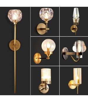 Mural Bathroom Lighting Bathroom Industrial Lampara De Pared Wall lamp Light For Home Applique Murale Luminaire Wall Lamp