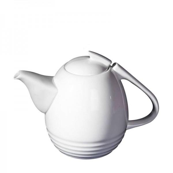 1100 ml Europäischen Stil Weiße Kaffeekanne Keramik Knochen Hitzebeständige Milch Teekannen Teekanne / Home Große Kapazität Wasserkocher