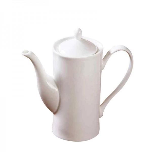 650 ml Moderne Kaffeemilchtopf Keramikknochen Weiß Griff Teekanne Drink / Home Saft Tee Wasserkocher Nachmittagstee Töpfe