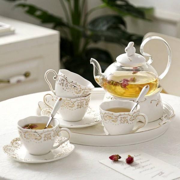 Japanische teekanne keramik tee-set obst tablett heizung glas topf elegante keramik tasse gericht geschenke