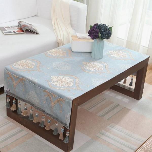 Luxus Tischdecke Europen Jacquard Toalha De Mesa Kleine Tischdecke Tasche Design Hängen Esstisch Nachttische Tischdecken