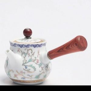 160 ml handbemalte Gold kreative Teekanne Keramik Porzellan Choi Wasserkocher mit Deckel Kit Kung Fu Tee-Set Pu'er Pot